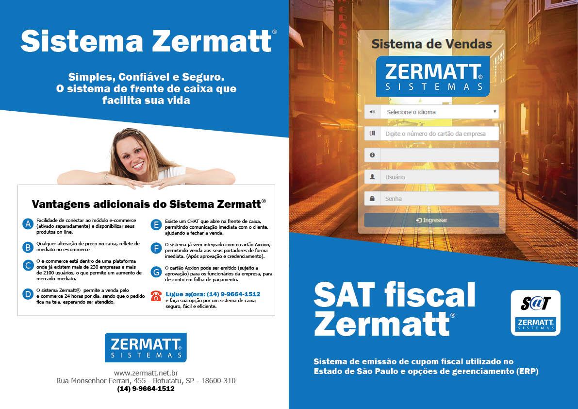 Folder para Zermatt Sistemas
