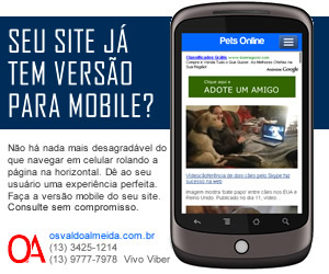 Banner promocional para Google para Foneweb. Designer gráfico freelancer Osvaldo Almeida