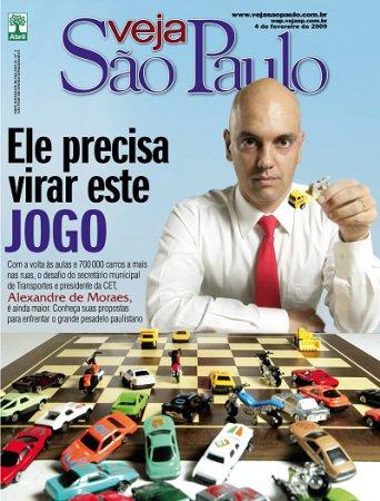 Matéria publicada na Veja São Paulo sobre Criação de Osvaldo Almeida, designer freelancer