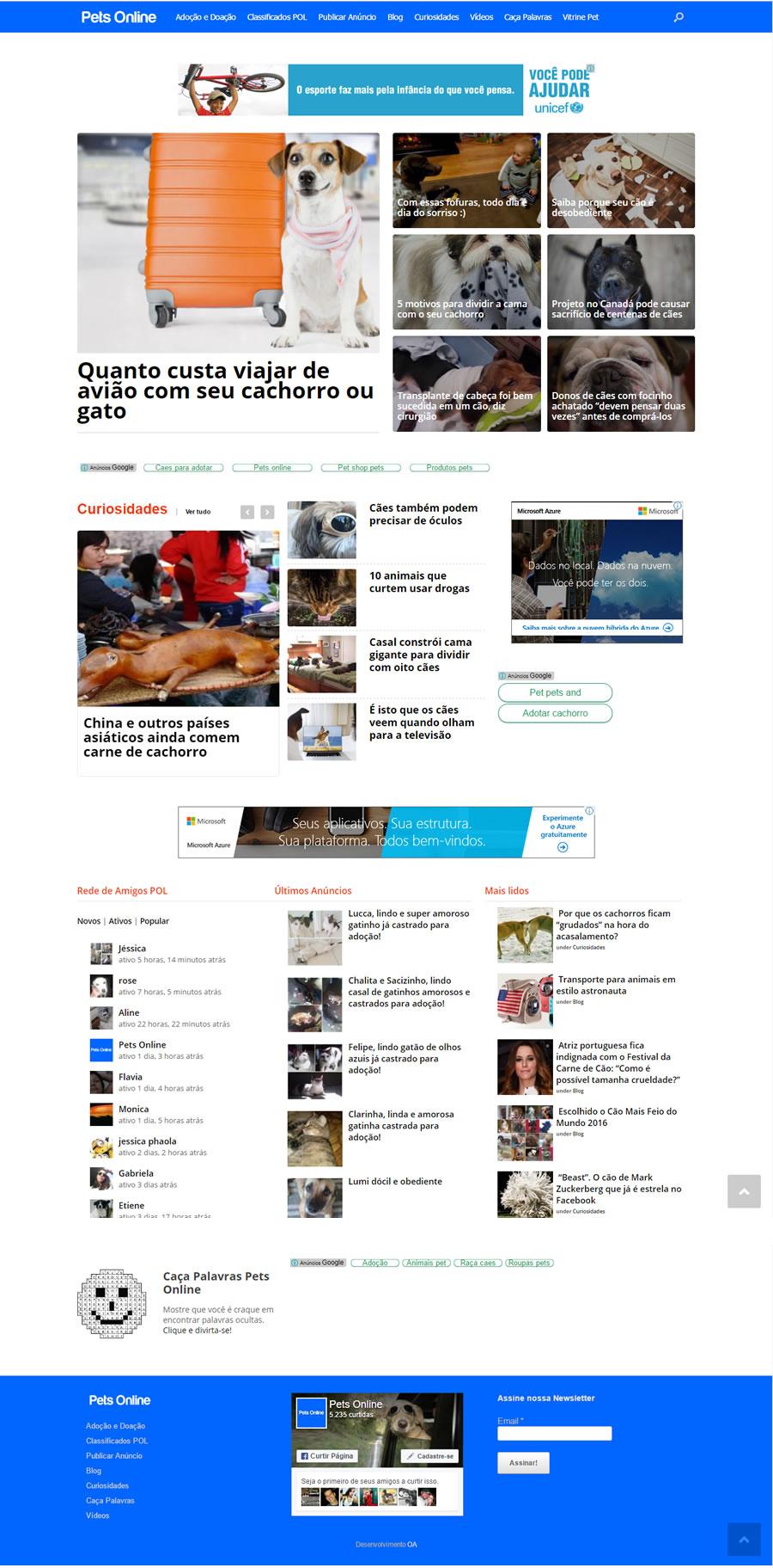 Portal Pets Online