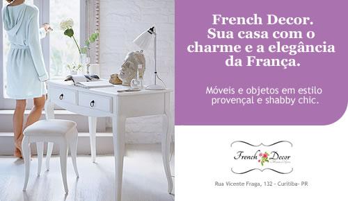 French Decor - Anúncio de revista criado por Osvaldo Almeida
