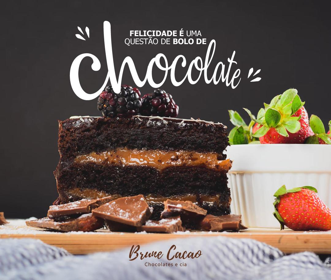 Flyer para Facebook e Instagram para Brune Cacao