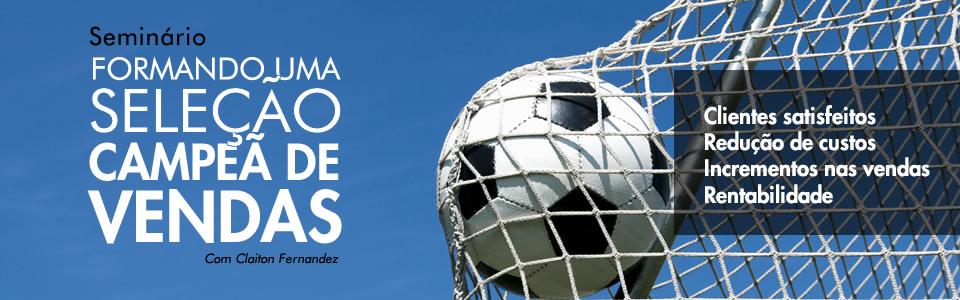 Banner promocional para site Claiton Fernandez | Criação de Osvaldo Almeida - Designer Freelancer