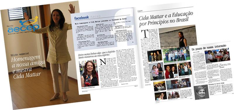 Revista Aecep - Belo Horizonte - MG   Osvaldo Almeida Designer e Diagramador.