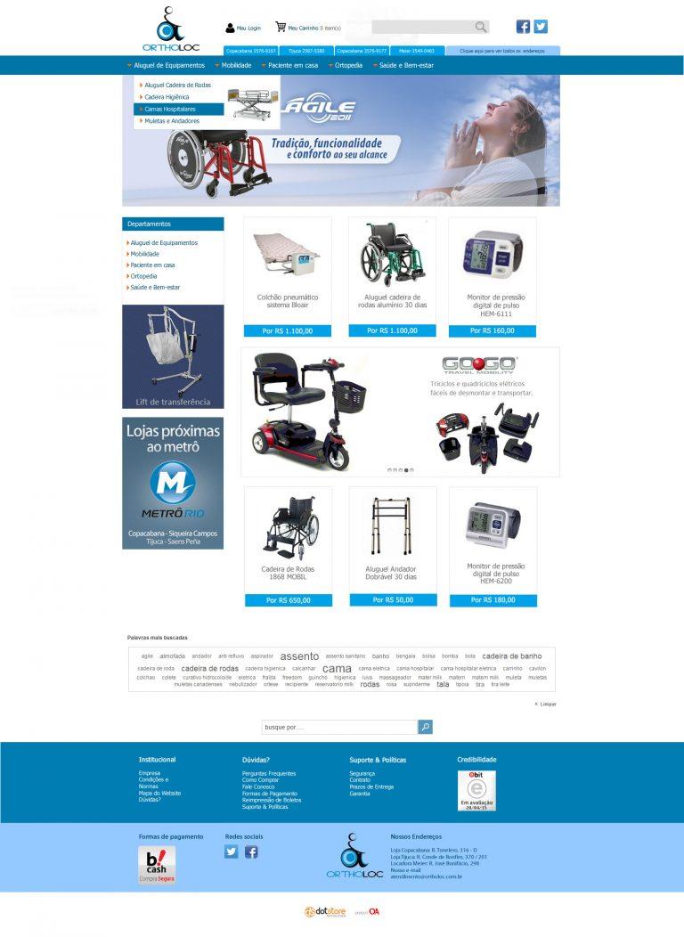 Personalização para lojas nas plataformas Dotstore, Fastcommerce, Tray, Uolhost, Rakuten e outras