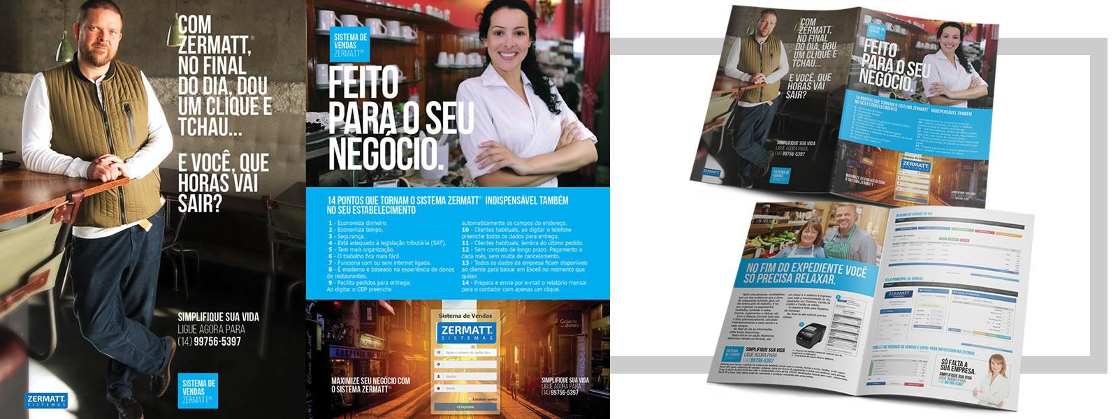 Folder para Sistema de Restaurantes Zermatt  Sistemas - A4